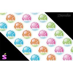 Savon naturel Quadricolore (32 étiquettes adhésives)