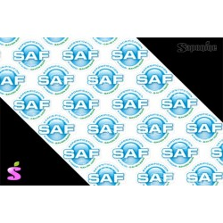 SAF Bleu (32 étiquettes adhésives)