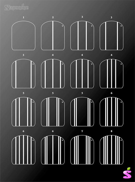 Les combinaisons symetriques 80 !